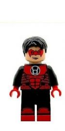 Red Lantern - Custom Designed Minifigure